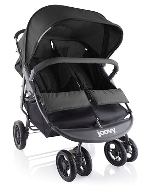 Joovy Scooter X2 double stroller black