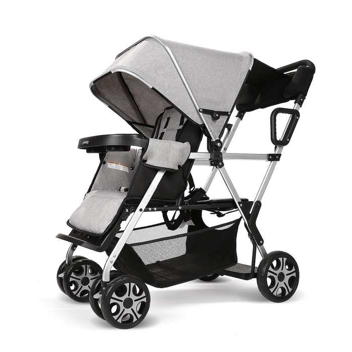 Double stroller convenience Urban Twin Carriage stroller by Cynebaby